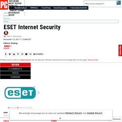 ESET Internet Security Review & Rating