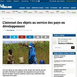 L'Internet des objets au service des pays en développement