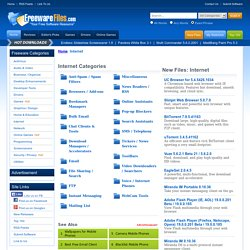 Free Internet Tools and Software Downloads - Freeware Files.com
