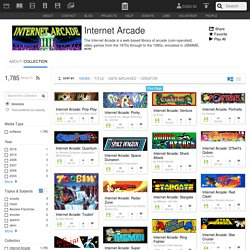 Internet Arcade : Free Software : Download & Streaming