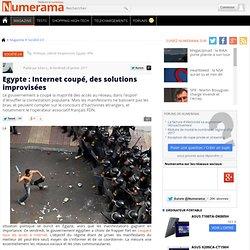 Egypte : Internet coupé, des solutions improvisées
