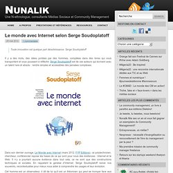 Le monde avec Internet selon Serge Soudoplatoff