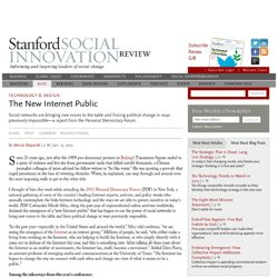 The New Internet Public