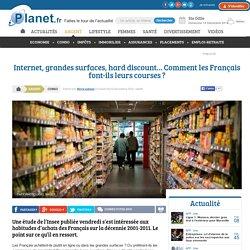 Internet, grandes surfaces, hard discount… Comment les Français font-ils leurs courses