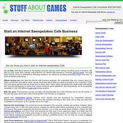 Internet Cyber Cafe, Game Center Software, Business Plan & Sweep