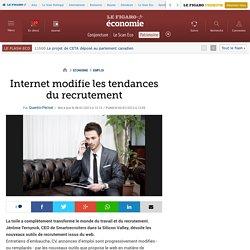 Internet modifie les tendances du recrutement