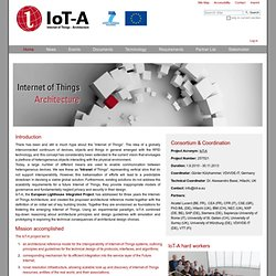 Internet of Things - Architecture — IOT-A: Internet of Things Architecture