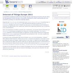 Internet of Things Europe 2011