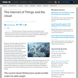 The Internet of Things and the cloud — Cloud Computing News