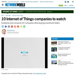 10 Internet of Things companies to watch