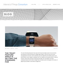 Blog — Internet of Things Consortium