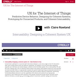 UX for The Internet of Things - O'Reilly Media