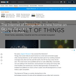 The Internet of Things has a new home on Gigaom Research