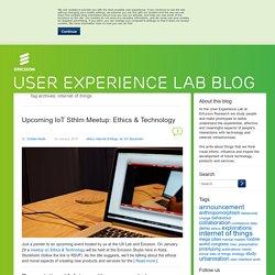 internet of things - UX Blog