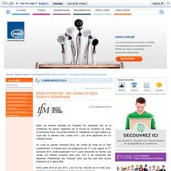 Mode et internet : des ventes en ligne toujours dynamiques