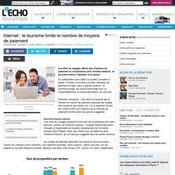 Internet : le tourisme limite le nombre de moyens de paiement - L'Echo Touristique