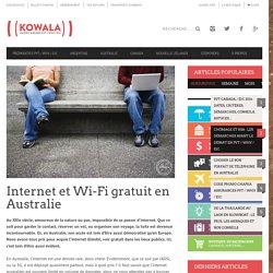 Internet et Wi-Fi gratuit en Australie