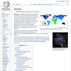 Internet / Wikipédia historique