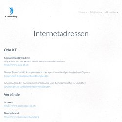 Internetadressen zur Informationbeschaffung
