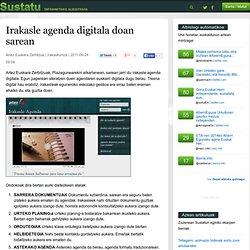 Irakasle agenda digitala doan sarean