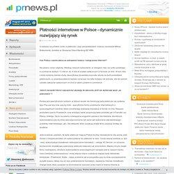 Płatności internetowe w Polsce - dynamicznie rozwijający się rynek - PRNews.pl
