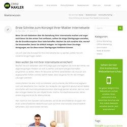 Mobile Webseite für Immobilienmakler erstellen mit Omnimakler, Makler Website erstellen