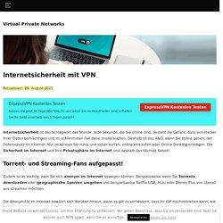 Internetsicherheit: So surfen Sie sicher im Netz.