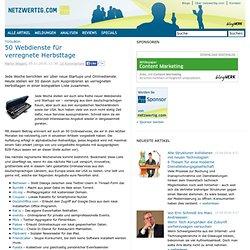 Toolbox: 50 Webdienste für verregnete Herbsttage