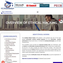 Ethical Hacking Internship: Summer Internship in Ethical Hacking in Ghaziabad Delhi NCR, Noida, India