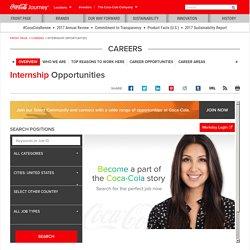 Internship Opportunities - The Coca-Cola Company: The Coca-Cola Company