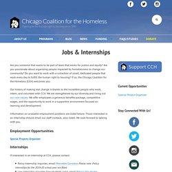 Jobs & Internships - Chicago Coalition for the Homeless