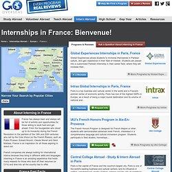 Reviews of France Internship Programs