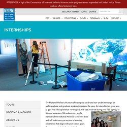 Internships - NHMNHM
