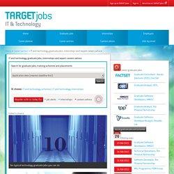 IT graduate jobs, internships and careers advice