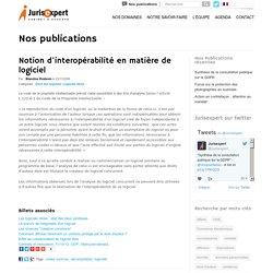 Notion d'interopérabilité en matière de logiciel - Avocat Lille