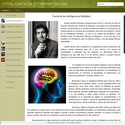 Inteligencia Interpersonal: Teoría de las Inteligencias Múltiples