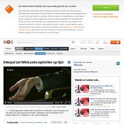Interpol zet WikiLeaks-oprichter op lijst