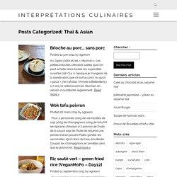 Interprétations Culinaires