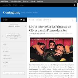 Lire et interpréter La Princesse de Clèves dans la France des cités