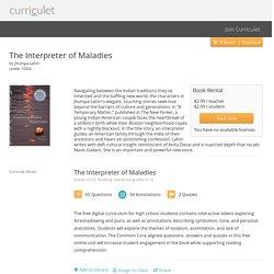 The Interpreter of Maladies - Curriculet