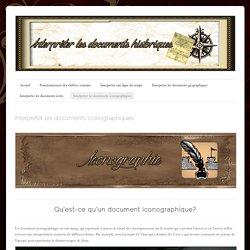 Interpréter les documents iconographiques