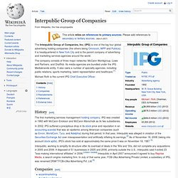 Interpublic Group of Companies