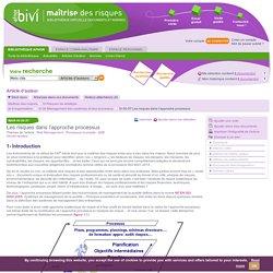 L'interrelation entre analyse processus, management de l'entreprise, système de management et le management des risques