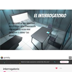 interrogatorio by luciamiguel87 on Genial.ly