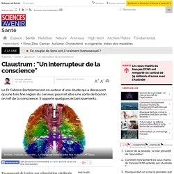 "Claustrum : ""Un interrupteur de la conscience"""