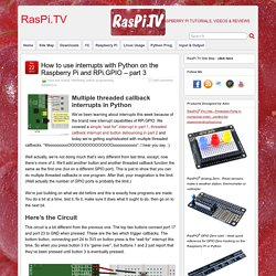 How to use interrupts with Python on the Raspberry Pi and RPi.GPIO – part 3