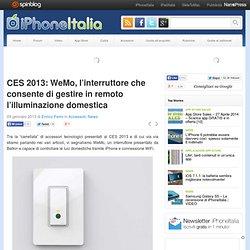 CES 2013: WeMo, l'interruttore che consente di gestire in remoto l'illuminazione domestica