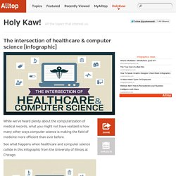 The intersection of healthcare & computer science