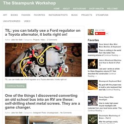 The Steampunk Workshop | Technology & Romance - Fashion, Style,