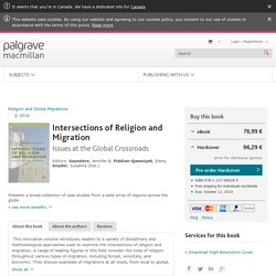 Intersections of Religion and Migration -